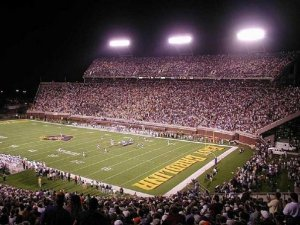 With nearly 50,000 fans per football game, and less than 5,000 in basketball, it's easy to see which sport ECU favors.