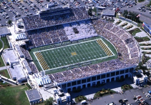 Navy's Memorial Stadium will be the site of the Military Bowl featuring the ACC and American Conferences