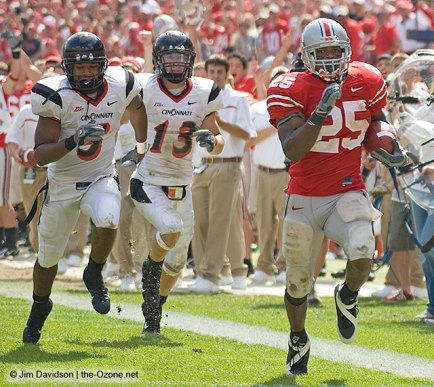 Cincinnati couldn't catch the Buckeyes when they last met in 2006.